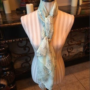 Pale Green Scarf